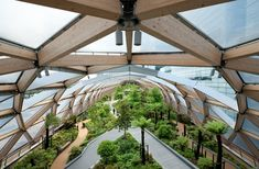Crossrail roof garden