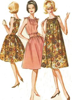 1960s McCalls Sewing Pattern 6712 Womens Summer by CloesCloset