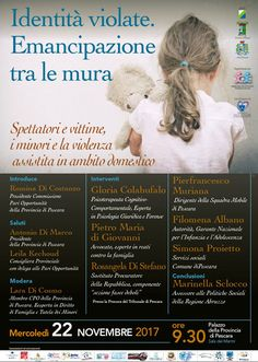 Violenza assistita martedì 22 novembre convegno a Pescara