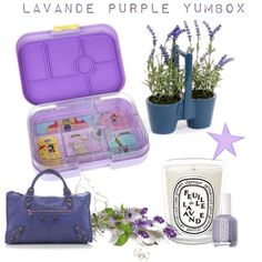 Lavande Purple Yumbox Original. Pack lunch in style for kids, teens and even adults.