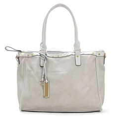 The Robert Matthew Giana Tote In Platinum Grey Fashion From Handbags Latest Ping Trends Totes