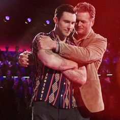 #blakeshelton #adamlevine #thevoice ...best season yet...filled with laugh out loud comedy, extraordinary talent (and it is still early), cotton candy and candy canes!! The chemistry between the judges rocks... :)))