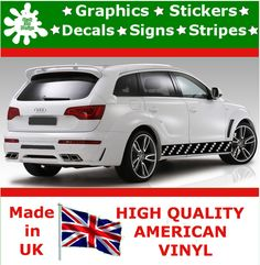 Racing Stripes Sticker Set Car Rally Vinyl Decal Art Auto Graphics JDM Viper 3
