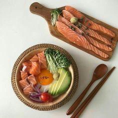 Cute Food, Good Food, Yummy Food, Asian Recipes, Healthy Recipes, Food Porn, Aesthetic Food, Korean Aesthetic, Aesthetic Pastel