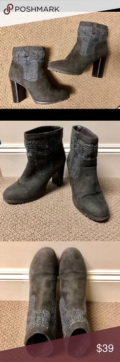 Stylish Juicy Couture gray boots! Sz 9.5 Stylish Juicy Couture gray boots! In awesome condition! Sz 9.5 Juicy Couture Shoes Ankle Boots & Booties