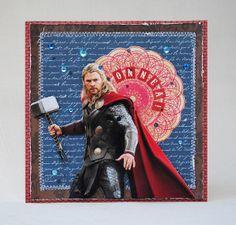 Thor birthdaycard by Anski