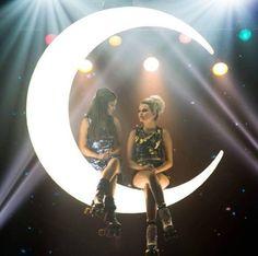 Luna comparte el protagonico con ambar