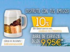 10% de descuento en jarras de cerveza en Lidl