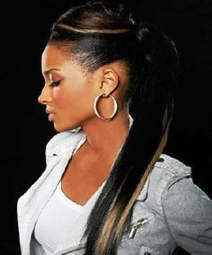 Weave Ponytail Hairstyles on Pinterest | Long Ponytail Hairstyles ...