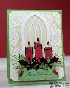 CC585 DT Sample- Mary's card