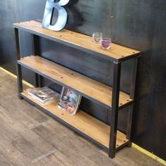 1000 images about bois acier on pinterest old sewing. Black Bedroom Furniture Sets. Home Design Ideas