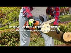 Kebtek Electric Chainsaw 10inches Installation - YouTube Electric Chainsaw, Garden Tools, Youtube, Yard Tools, Youtubers, Youtube Movies