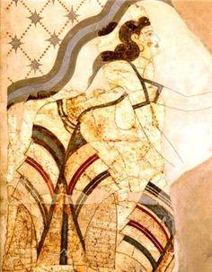 A Minoan beauty in Thera
