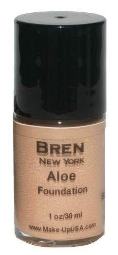 Cosmetics | Bare Beige Liquid Aloe Foundation by Bren New York, a perfect combination of skincare and cosmetics in one. $19.00