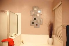 Montaje decorativo espejos malma