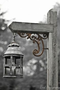 Lamp Post wrought iron