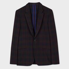 Sunspel Blue Milano Merino Wool Blazer | Mens Blazers And Sport ...