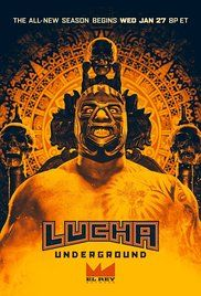This is a t.v. show series: Lucha Underground Poster starting in 2014.