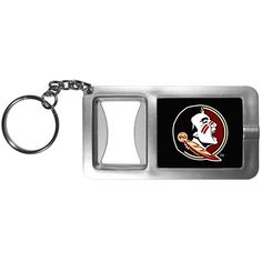 "Checkout our #LicensedGear products FREE SHIPPING + 10% OFF Coupon Code ""Official"" Florida St. Seminoles Flashlight Key Chain with Bottle Opener - Officially licensed College product Crisp digital graphics Push button flashlight feature Strong bottle opener Perfect for the Florida St. Seminoles fan that is on the go - Price: $14.00. Buy now at https://officiallylicensedgear.com/florida-st-seminoles-flashlight-key-chain-with-bottle-opener-cfbk7"