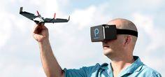 Live beeld in 360 graden vanuit je papieren vliegtuigje | B R I G H T