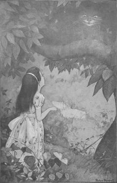 """""""This time it vanished quite slowly.""""  Art: Peter Newell, New York: Harper and Brothers, 1901"""