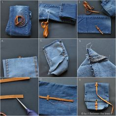 https://flic.kr/p/dnrC5e | denim snack bag :: a recycling project | tutorial