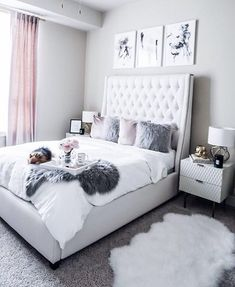 "6,280 Likes, 31 Comments - #LTKhome (@liketoknow.it.home) on Instagram: ""Pops of prints and wicker accents, we are loving @sloppyelegance' boho bedroom set up 