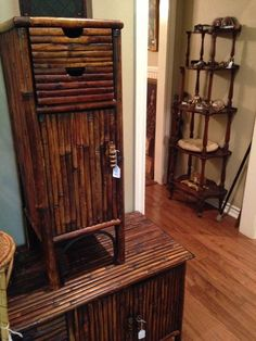 Bamboo chest and small cabinet; 5 tiered display shelf with paper weight collection  New Divide & Conquer sale starting this Thursday April 20-April 22, 2017 check out the details here:  http://divideandconquerofeasttexas.com/nextsales.php  #estatesales #consignments #consignment #tyler #tylertx #tylertexas #organizing #organizers #professionalorganizer #professionalorganizers #movingsale #movingsales #moving #sale #divideandconquer #divideandconquerofeasttexas #divideandconquereasttexas…