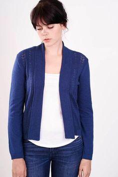 marion shawl necked cardigan