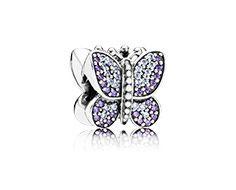 Charm Papillon Etincelant