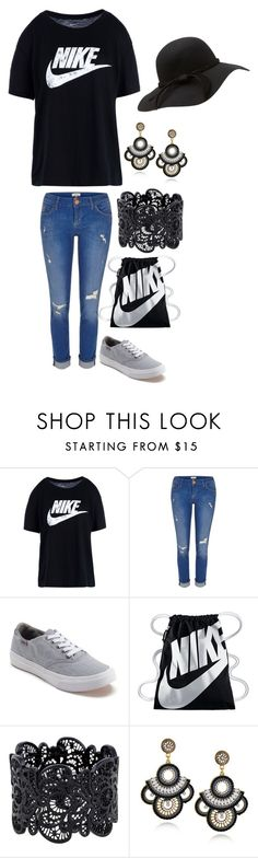"""""""Untitled #3985"""" by peacelover4 on Polyvore featuring NIKE, River Island and Vans"""