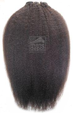 Mane Depot Malaysian Kinky Straight Hair on machine weft http://www.manedepot.com/malaysian-remy-kinky-straight.html
