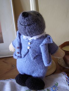 A knitted mole . . . everyone should have one.