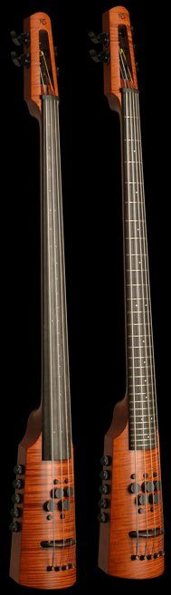 """* NED STEINBERGER design ~ The """"OMNI"""" bass shown ~ Here is his website > http://www.nedsteinberger.com/instruments/omnibass.phpOmni Bass ny NS Design... Love the fret-less design! The link below is NOT the website, just some fabricated pinterest page ...."""