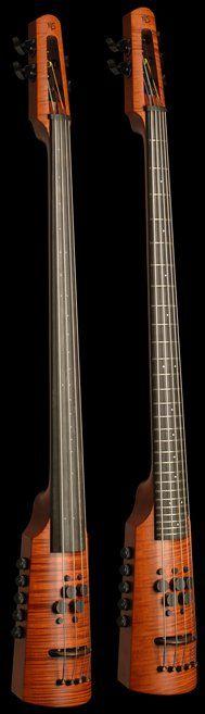 Omni Bass ny NS Design #LardysChordophoneOfTheDay ~ https://www.pinterest.com/lardyfatboy/lardys-other-fretted-chordophones-of-the-day/ ~