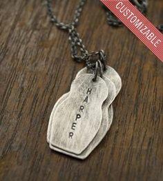 Matryoshka Custom Mom Necklace