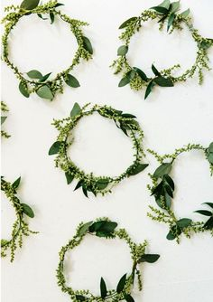 Greenery wedding decorations. Hot new wedding trend: Greenery – Pantone colour of the year 2017