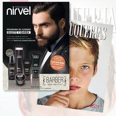 NIRVEL visto en/as seen on #revistapeluquerias #PHS521 Contacta! Tel. 965 523 162 www.nirvel.com