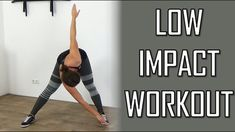 20 Minute Low Impact Cardio Workout – Beginners Cardio Workout With Low ... #lowimpactcardio