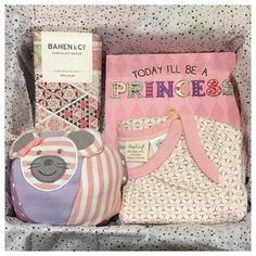 Playful in Pink - a custom curation for a new baby girl featuring Apple Park, Sapling Child and Bahen & Co. treasures #youngwillow #saplingchild #bahenandco