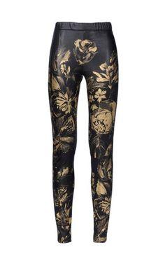 Leather pants Women - Pants Women on Roberto Cavalli Online Store