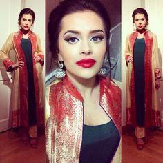 Pakistani look by Bambi Bains Bambi, Indian Fashion, Womens Fashion, Indian Dresses, Pakistani, Indiana, Saree, Boutique, Dress Ideas