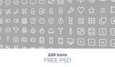 5 Creative and Free Line Icon Packs that Deserve your Attention