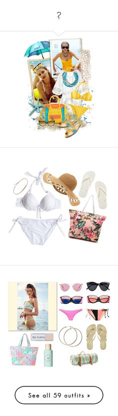 """"" by allisonbiebs ❤ liked on Polyvore featuring Calypso St. Barth, Paige Novick, H&M, Dolce&Gabbana, Havaianas, Rip Curl, Jules Smith, Victoria's Secret, Calypso Private Label and Lilly Pulitzer"
