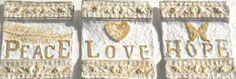 Wall Plaque Biblical Art Handmade Paper by ThresholdPaperArt, $35.00