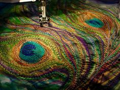 Nicky Perryman Textile Art by Nicky Perryman, via Flickr