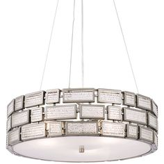Varaluz Harlowe Pendant ($669) ❤ liked on Polyvore featuring home, lighting, ceiling lights, silver, varaluz, varaluz lighting and superhero lamp