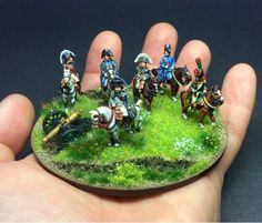 Napoleon & his inner circle - Napoleonics in Miniature Waterloo 1815, Fun World, Military Diorama, Fantasy Miniatures, Napoleonic Wars, Sculpture, Reference Images, Toy Soldiers, Models