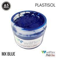 PLASTISOL WILFLEX PolyOne - MX BLUE 500GR