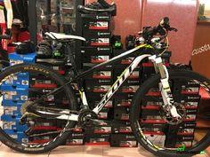 Bicicleta de montaña 27,5 carbono scott scale 730 talla s con 2x10 cambio sram x9 ... en toda España